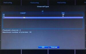 Image 5 - 5mp/4mp/3mp/2mp/1mp IP 카메라 플라스틱 12V 3A Hi3536D XMeye 얼굴 감지 H.265 + 5mp 16CH 16 채널 Onvif WIFI 미니 NVR
