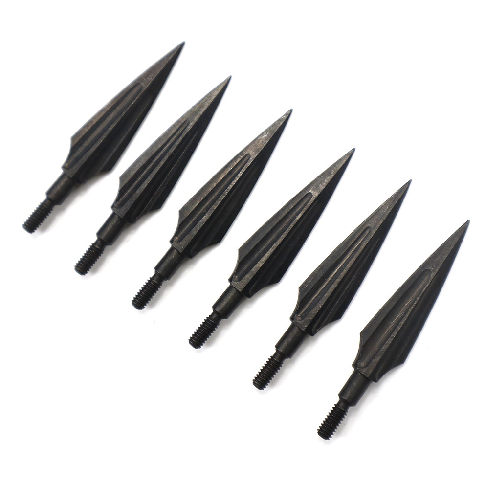 3pcs/6pcs High Carbon Steel Arrow Heads Broadheads Tips Arrow Points Archery Arrowheads For Compound Bow Crossbow Recurve Bow