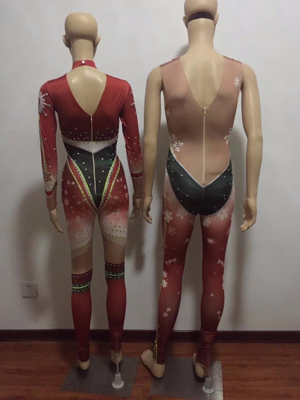 Nuit Jumpsuit Cristaux Women Mousseux Costumes Scène men Jumpsuit Noël Sexy Danse Femmes Pour Costume Boîte Chanteur Body Salopette Hommes De w0qx8naPT