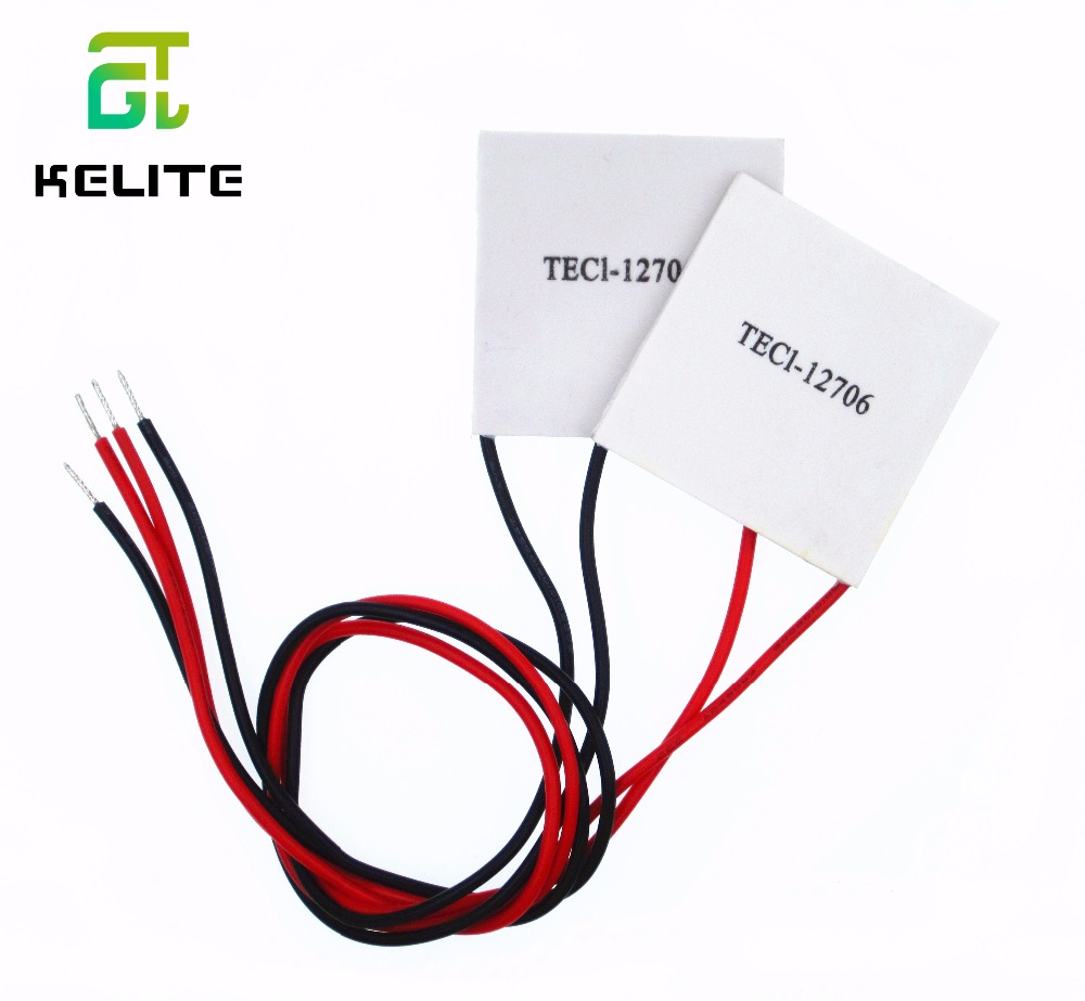 1PCS/LOT TEC1-12706 12706 TEC Thermoelectric Cooler Peltier 12V New of semiconductor refrigeration TEC1-12706 c1204 4p1540 15 20 30 40mm 12v 4a 48w 4 layer semiconductor cooler 4 layer semiconductor subzero freezing thermoelectric cooler