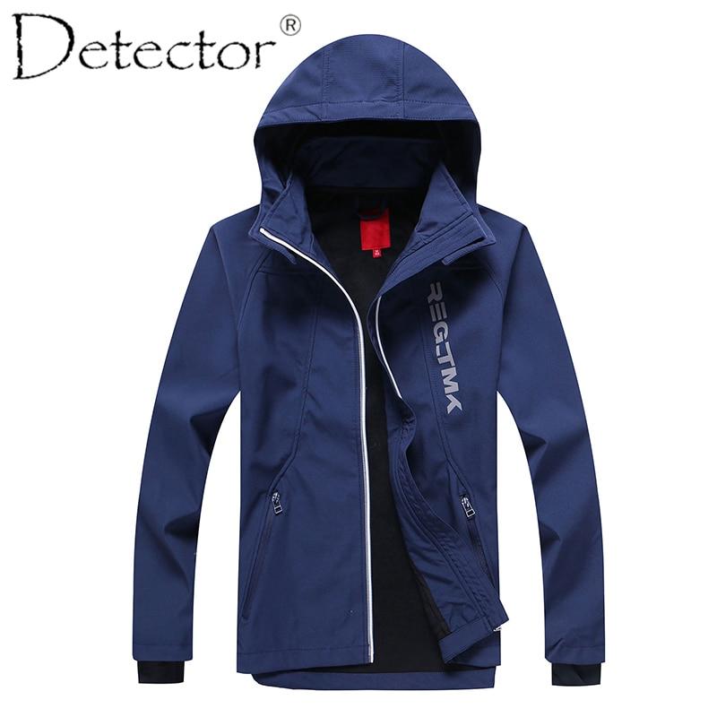 Detector Big Boys Outdoor Sport Jacket Softshell Jacket Hiking Camping Coat columbia big boys lightning lift jacket