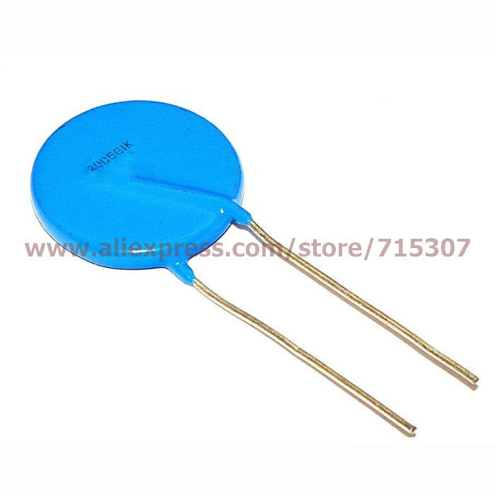 PHISCALE 25pcs Varistor 20D561K