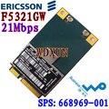 Hs2350 Ericsson F5321GW F5321 HSPA UMTS WWAN 3 G A-GPS Mini PCIe de NEU H4X00AA 668969 - 001