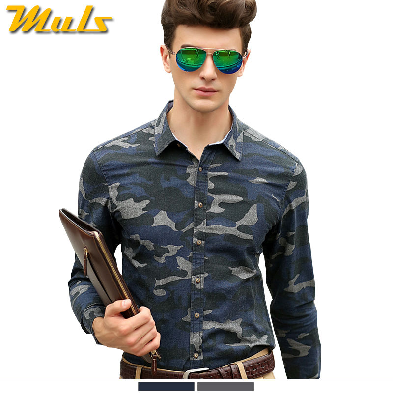 Buy military camouflage shirts men style for Mens military style long sleeve shirts