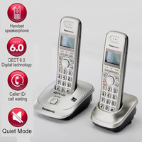 DECT6.0 Home Cordless Phone Handset Wireless Telephone With Caller ID Handfree Internal Intercom English Spain Language For Home