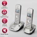 DECT6.0 Thuis Draadloze Telefoon Handset Draadloze Telefoon Met Caller ID Handfree Interne Intercom Engels Spanje Taal Voor Thuis