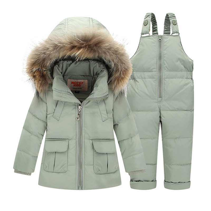 ZTOV Boys Girls Snowsuit Cute Cartoon Warm Thick Baby Boy Winter Coat Kid Girls Down Jacket and Pants Children Clothes Outerwear ztov boys girls snowsuit cute cartoon warm thick baby boy winter coat kid girls down jacket and pants children clothes outerwear