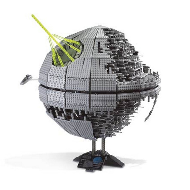 Lepin 05063 4016pcs Star Series Wars Force Waken UCS Death Star Model Building Kits Blocks Bricks Toys For Children Gifts 75159 lepin 05060 star series wars ucs naboo star type fighter aircraft model building blocks bricks compatible legoed 10026 toy gifts