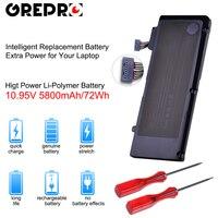A1322 A1278 Laptop Battery for Apple A1322 Apple MacBook Pro 13 2009 2010 2011 MB991LL/A MB990LL/A MB990J/A MC700 MC724 MD313
