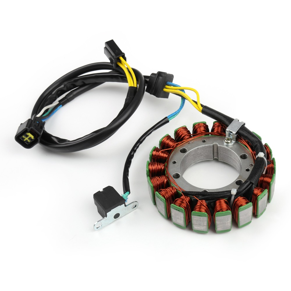 Areyourshop Motorcycle for Suzuki Stator Generator Coil for Suzuki DR650 1996 2011 DR650SE 1996 2015 aluminium Motor Styling-in Motorbike Ingition from Automobiles & Motorcycles    3