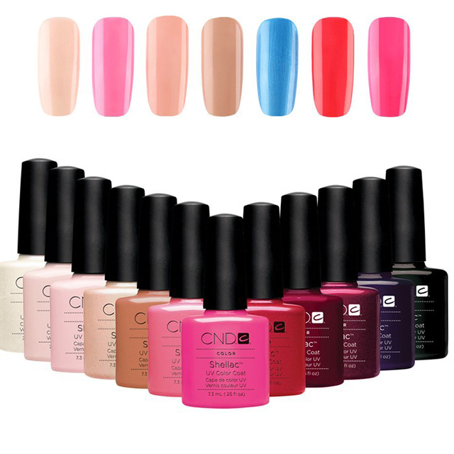 Amato 20pcs/lot New arrival 7.3ml CND Shellac Gel Nail Polish 116  ED56