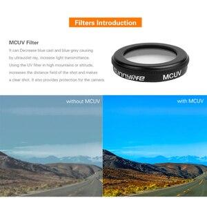 Image 3 - Para MAVIC2 Zoom Câmera de Vidro Óptico Filtro de Densidade Neutra Conjunto Para DJI Mavic 2 Zoom Lentes Filtros CPL UV Zangão acessórios