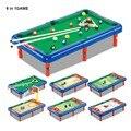6 EN 1 JUEGO de Billar/Bolos/Fútbol/Baloncesto/Golf/Hockey Cambio de Escena de Interior/Al Aire Libre Juguetes de los niños Diversión Balones Deportivos