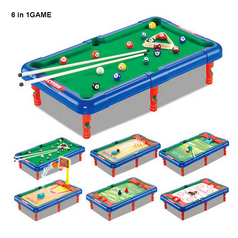 6 IN 1 GAME Billiards/Bowling/Football/Basketball/Golf/Hockey Scene Change  Indoor/Outdoor Childrenu0027s Toys Fun Sports Balls In Toy Balls From Toys U0026  Hobbies ...
