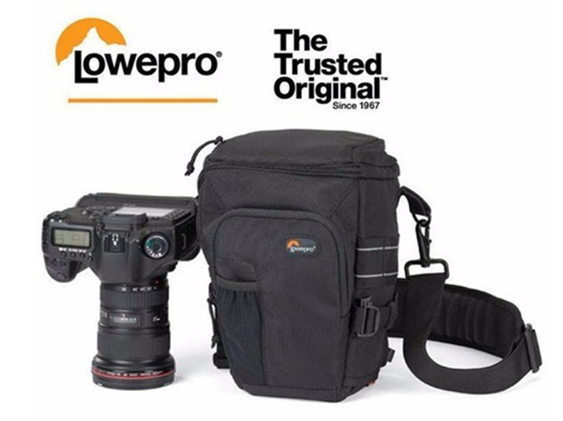 Free Shipping Genuine Lowepro Toploader Pro 70 AW DSLR Camera Holster Shoulder Bag Case & Rain Cover рюкзак lowepro pro trekker 450 aw black