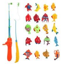 Магнита рано магнитная образовательные kid рыбы удочка рыбалка шт./лот игрушки дети