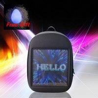 Новый светодиодный динамичный рюкзак подчеркивает индивидуальность и приводит моды