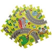 Bé mềm trong nhà câu đố chơi giáo dục mat chia phần EVA bọt bò pad trò chơi thảm thảm trẻ em đồ chơi trẻ em thảm playmat
