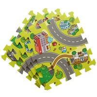 Bebé suave de interior juego de puzzle estera educativa común partido arrastrándose game pad alfombra de espuma EVA niños juguetes para niños alfombra tapete de juego
