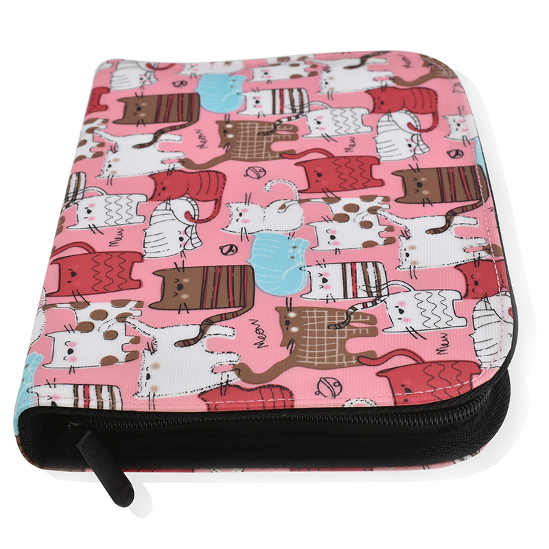 New Crochet Hook Knitting Kit Pouch Cute Cats Style Storage Bag Empty Box Case Organizer Bag For Sewing Crochet Needles Tool in Sewing Tools Accessory from Home Garden