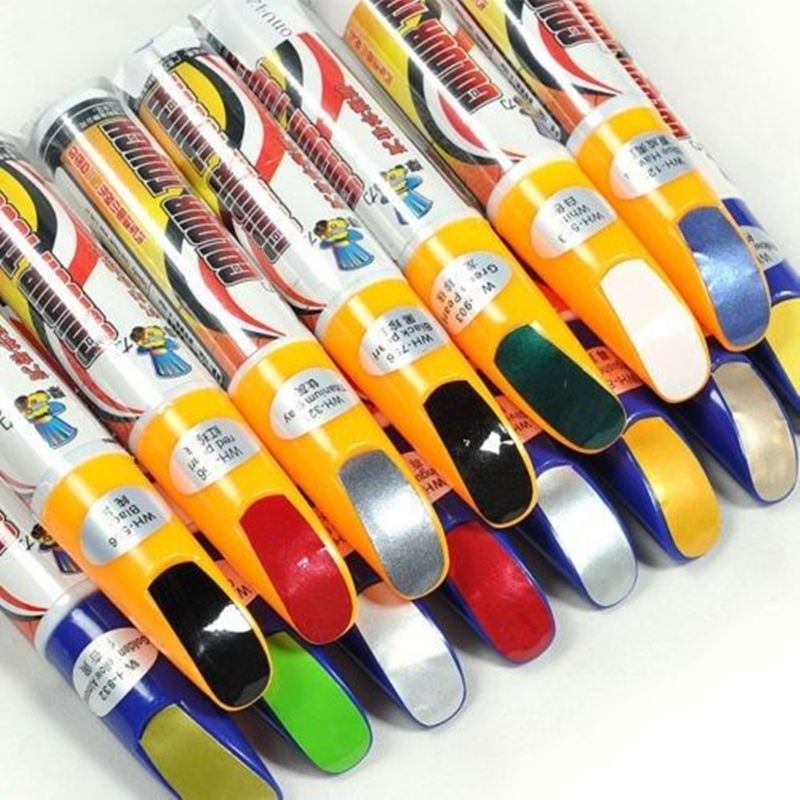 1Pcs Pro Mending Car Remover Scratch Repair Paint Pen Clear Painting Pens For Nissan Chevrolet Benz Honda Hyundai Ford Toyota(China)