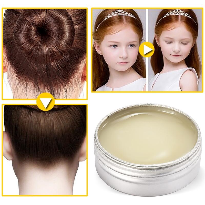 Men Women Styling Pomade Cream Rapid Fixed Repair Hair Not Oily Female Smell Fresh Hair Wax Broken Hair Art