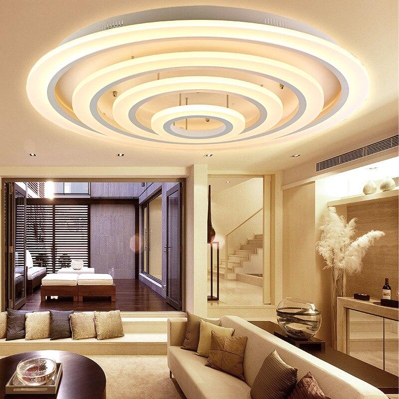 Modern Acrylic led ceiling light lamp designer bedroom ceiling lamp geometric lamp geometric ceiling fixtures lampada de teto
