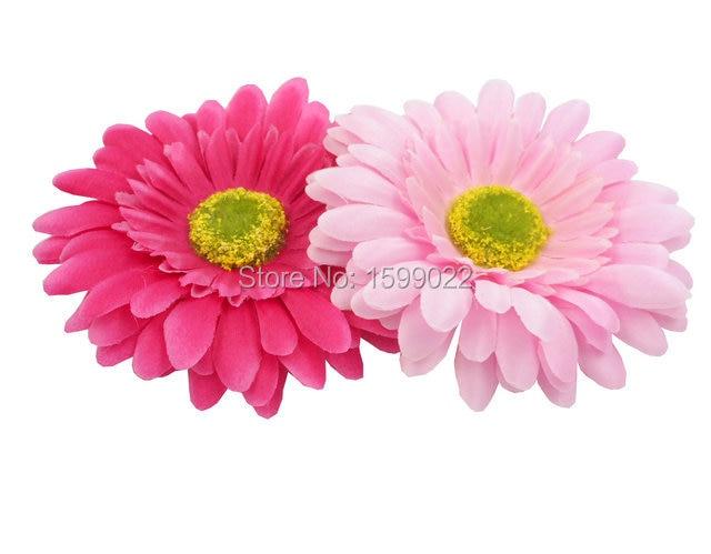 2pcs korean fabric flower hair clips for women corsage light pastel 2pcs korean fabric flower hair clips for women corsage light pastel deep pink gerbera brooch pins mightylinksfo Choice Image