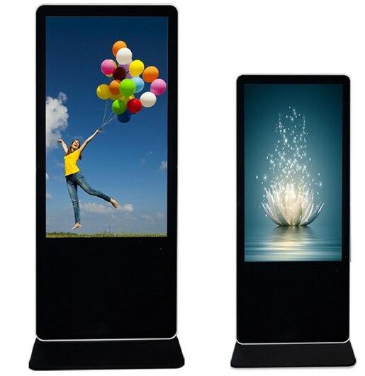42''47''55''65inch lecteur multimédia de signalisation numérique Android avec écran tactile totem affichage full HD tout en un bricolage pc