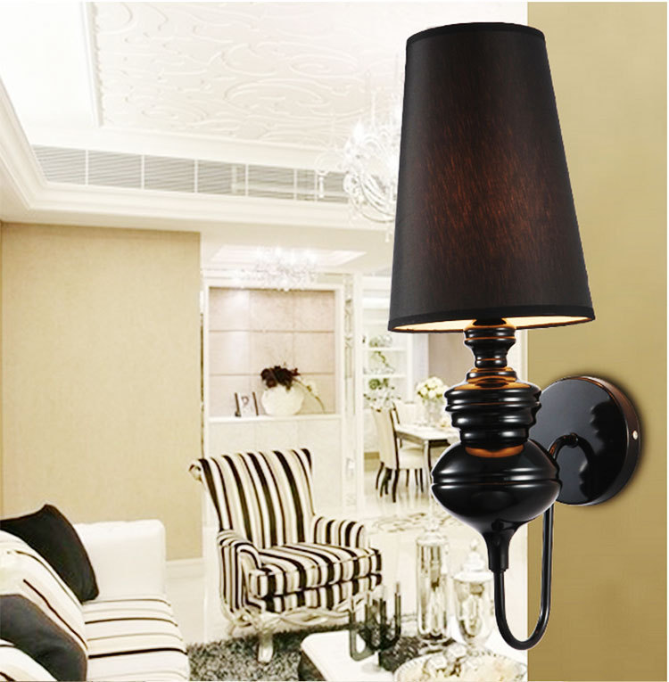 Modern brief bedroom study wall lights simple bedside lamp for Modern living room gadgets