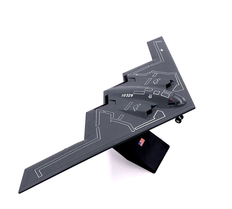 Rare  Special Offer  1:200  B2 U.S. Army Phantom  Strategic Stealth Bomber Model  Alloy Military Model  Collection