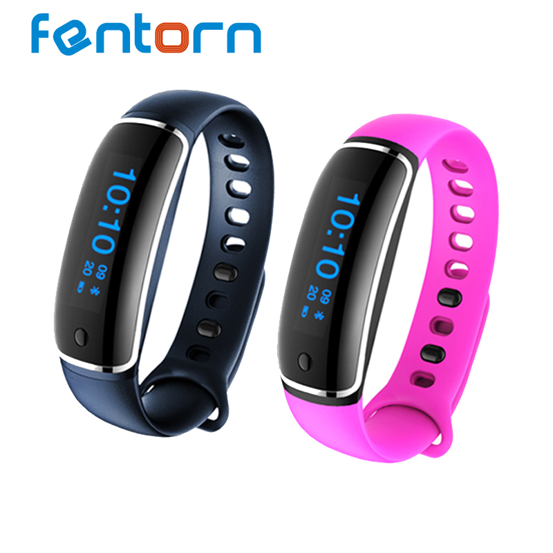 V8 Bluetooth Wristband Heart Rate Monitor smart band blood pressure Test Bracele