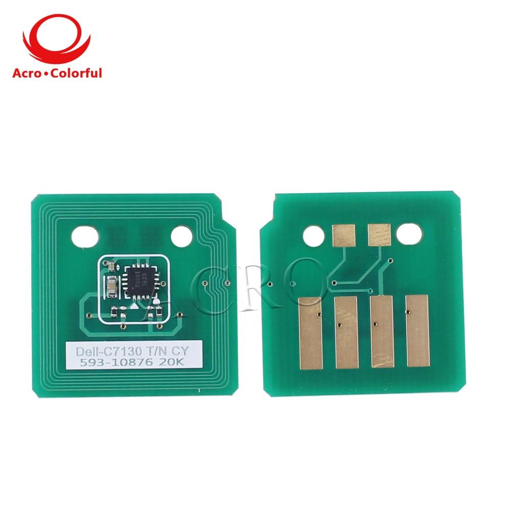 C7130 Smart Chip Laser Printer cartridge Reset for Dell C7130cdn Toner
