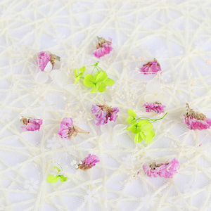 Image 5 - 1 caixa de unhas 3d decoração diy misturado flores secas adorável cinco pétalas flor adesivos para unhas arte decoração beleza