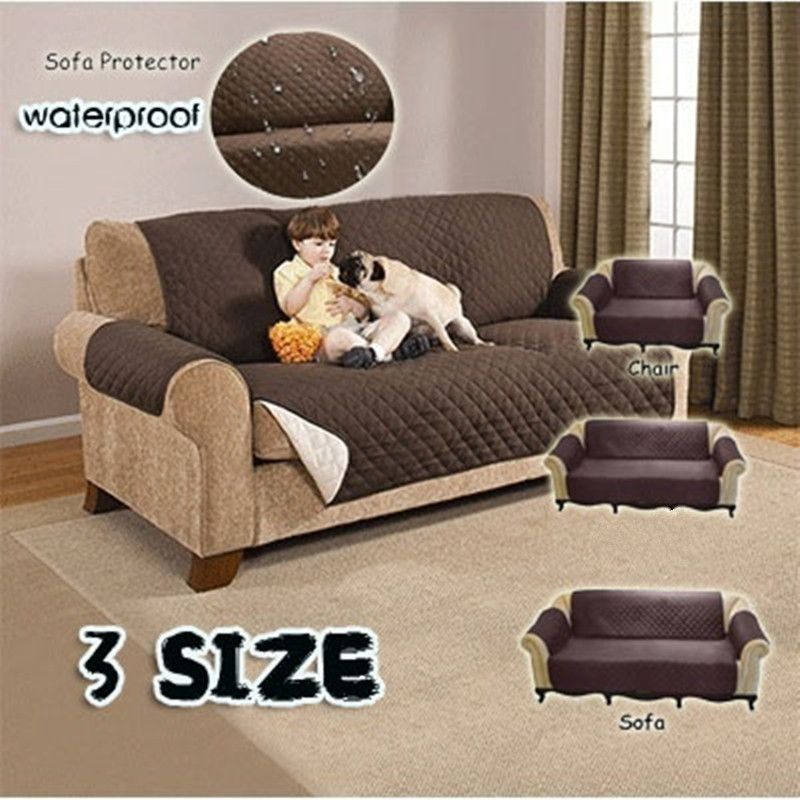 Couch Cover For Living Room Pet Dog Cat Universal 1/2/3-seaters Reversible Washable Removable Sofa-slipcovers Soft Sofa Towel