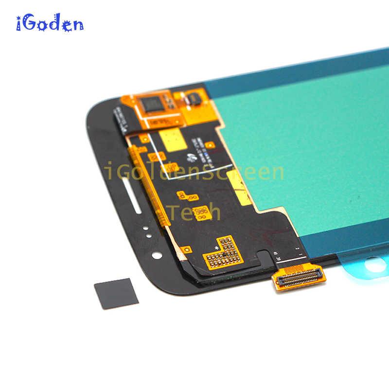 شاشات LCD لسامسونج غالاكسي J2 2016 عرض J210 J210F شاشة الكريستال السائل محول الأرقام بشاشة تعمل بلمس شاشة المجموعة لسامسونج J2 2016 LCD