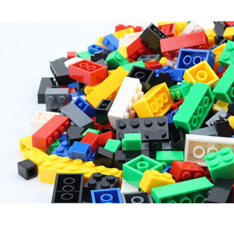 1000Pcs Building Bricks Set City DIY Creative Toys For Child Educational Building Block Bulk Bricks Compatible With Legoingly 1000pcs bulk bricks educational children toy compatible with major brand blocks 10 colors diy building blocks creative bricks