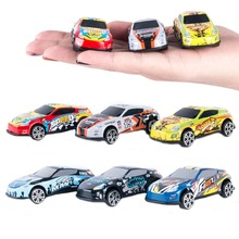 цена Subcluster 6 Pcs/Set Mini Metal Alloy Model Racing Cars Toys Baby Toys  for Boys Children Wheels Car Model Funny Kids Toys