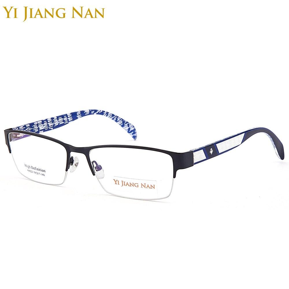 Bekleidung Zubehör Yi Jiang Nan Marke Mode-trend Große Rahmen Männliche Brille Myopie Brille Transparente Linsen Für Breites Gesicht Eleganter Auftritt