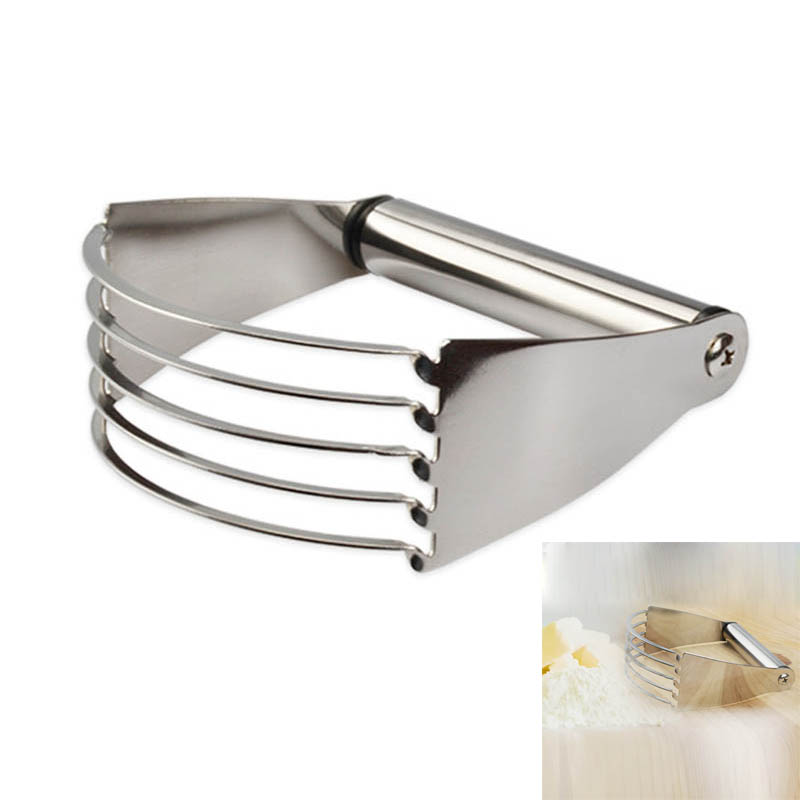 Kitchen Shears In Baking: Manual Dough Blender Stainless Steel Baking Pastry Blades
