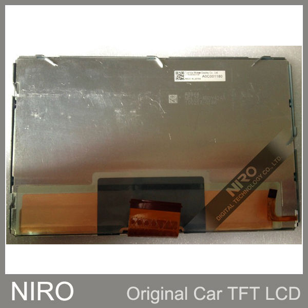 Niro DHL Shipping Brand New Original Car Navigation LCD Display Screen LTA080B0Y4F LCD Panel For Car Auto System Part