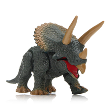 Infrared Remote Control Triceratops Electronic Dinosaur Walking Rc Funny Roar Sounding