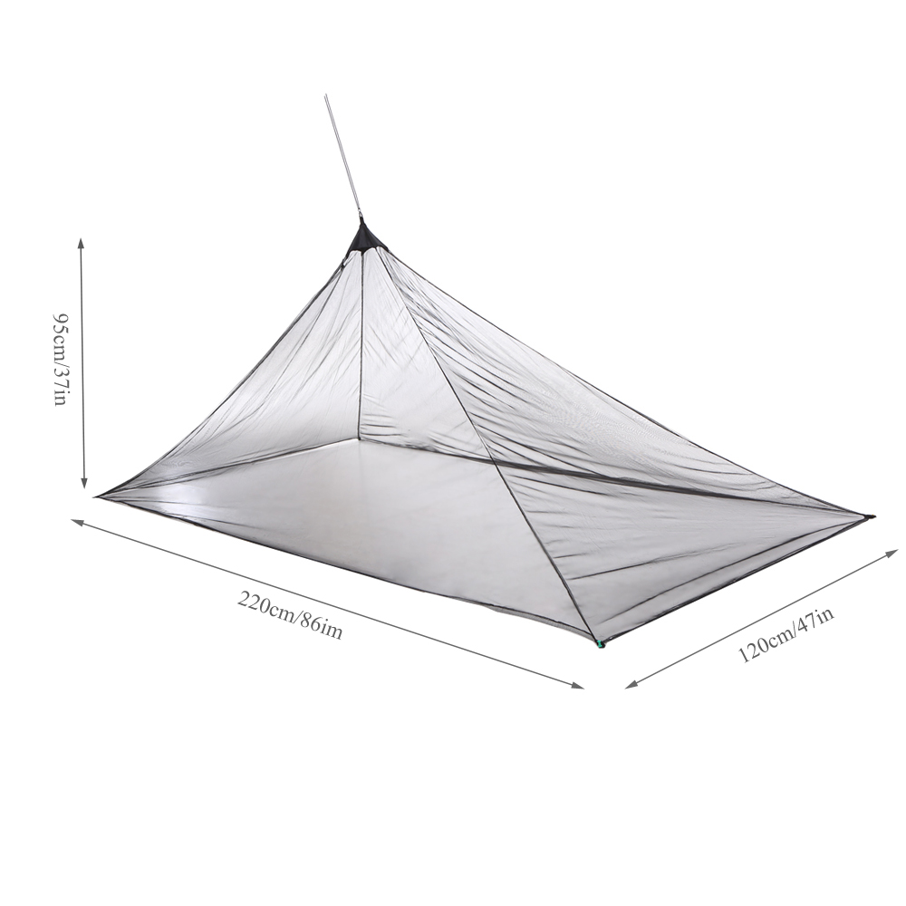 Lixada Outdoor Camping Tent Outdoor Camping Sports Mosquito Tent Ultralight Mesh Tent Mosquito Insect Bug Repellent Net Soft And Antislippery Tents