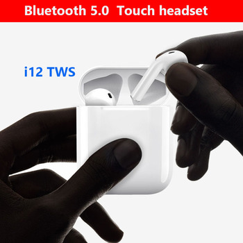 i12 tws Touch Bluetooth 5.0 Earphone Wireless Earphones For apple Iphone Samsung Sony Xiaomi Stereo Blutooth Headset Not airpods