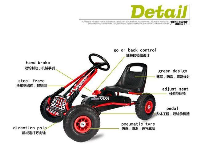 Tienda Online 12 pulgadas niños caucho neumático pedal rueda Go ...