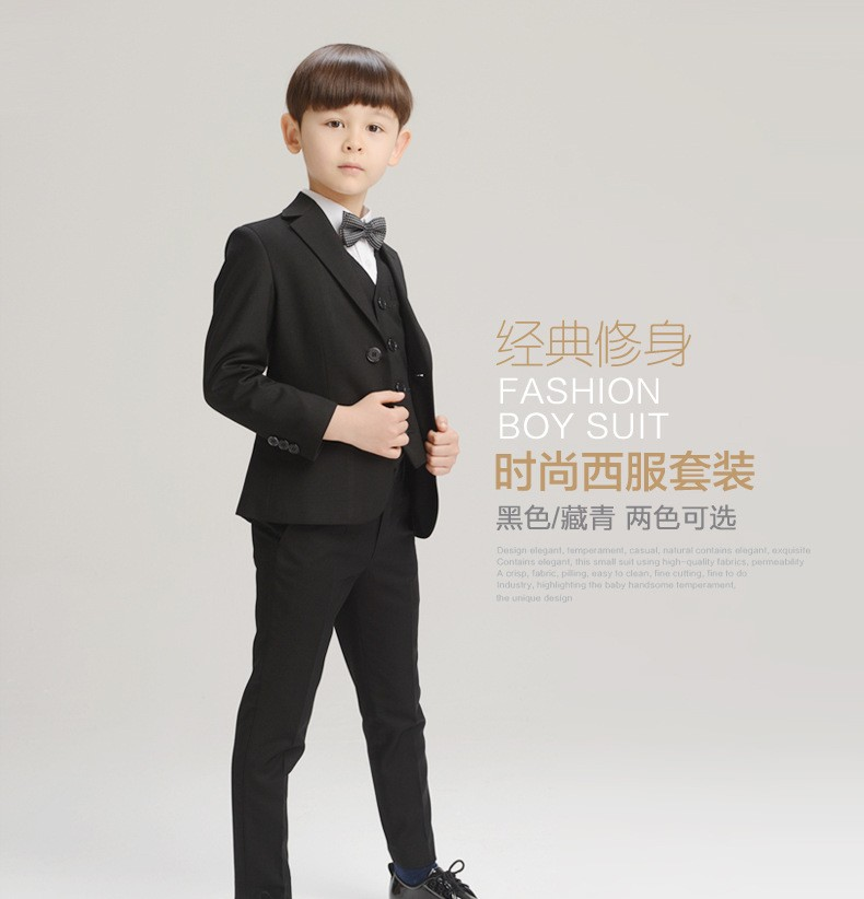 High Quality Baby Boys Formal Sets Kids Blazers Boy Suit For Wedding ...