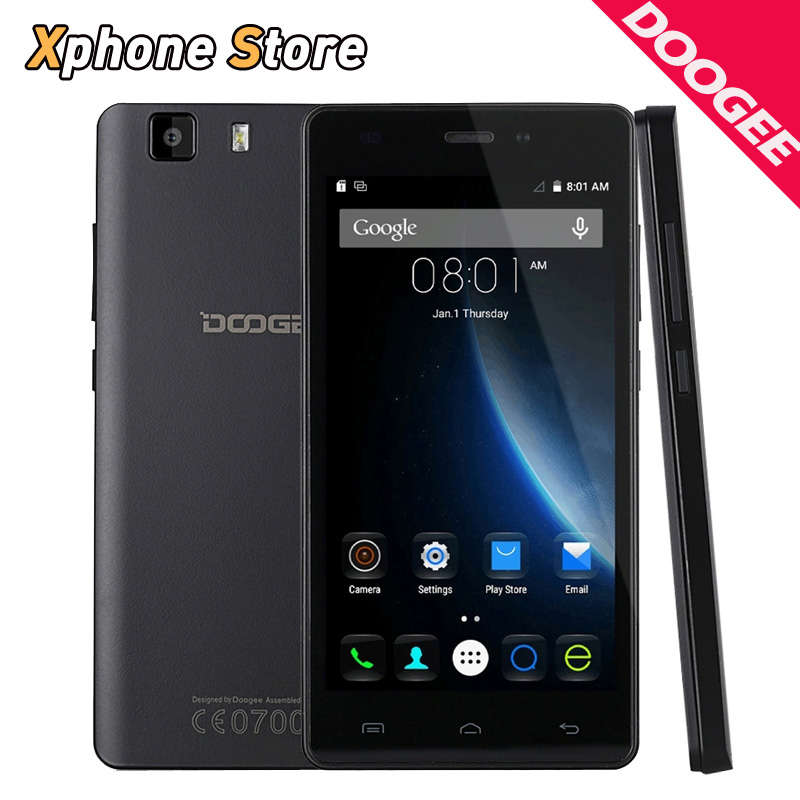 Original Doogee X5 Pro 5.0 inch Android 5.1 16GB ROM 2GB RAM 4G LTE MT6735 Quad Core 8.0MP Camera with Dual SIM Mobile Phone
