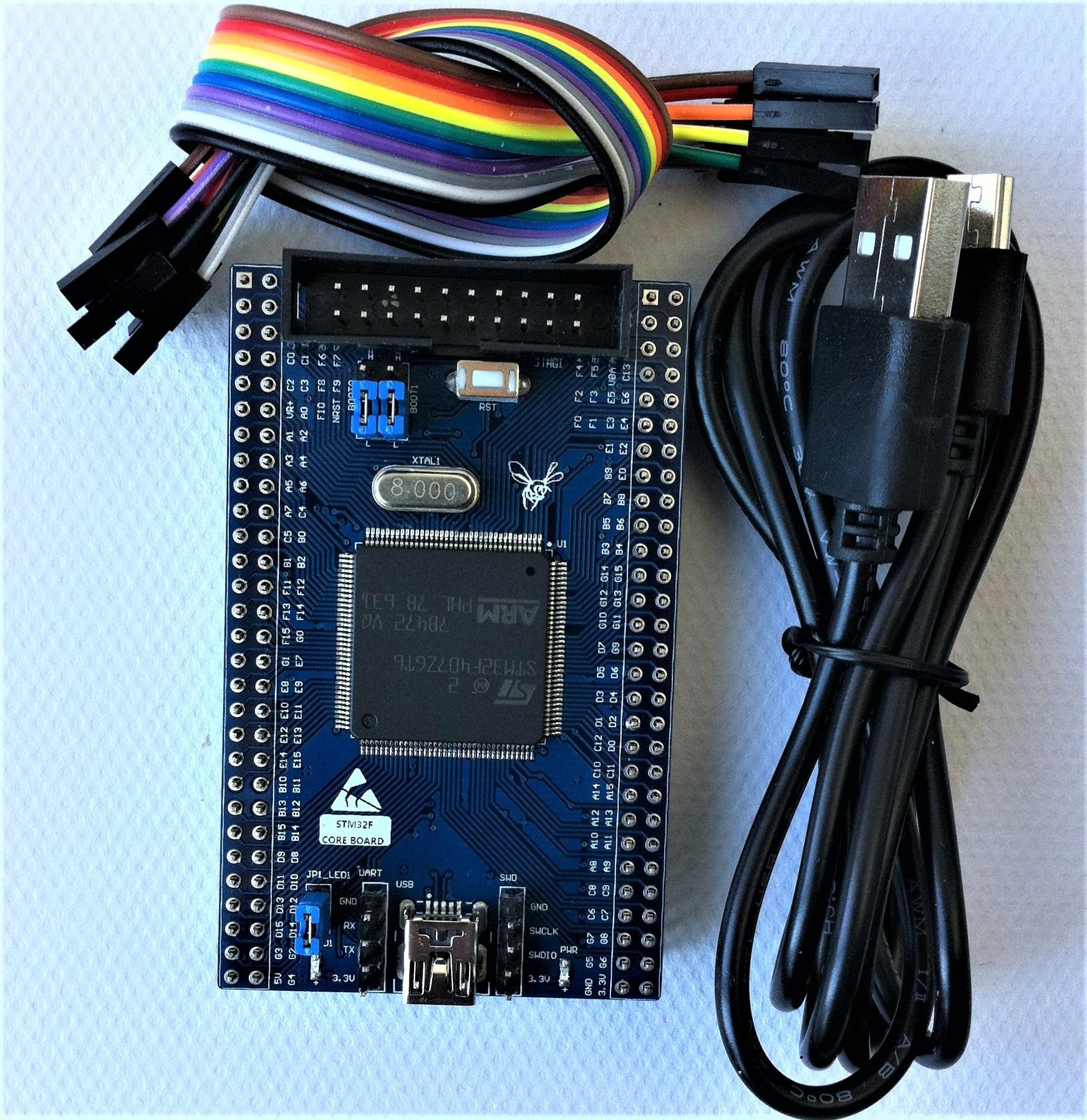 цена на STM32F407 Core Board Minimum System STM32F407ZGT6 Development Board Mini Board Science
