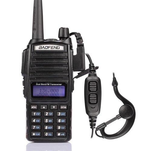 Hot prijenosni radio Walkie Talkie Baofeng UV-82 s gumbom za slušalice Radio Vhf Uhf Dual Band Baofeng UV 82 UV82 dvosmjerni radio