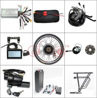 Free US Shipping 48V 20AH Rear Carrier Battery 5A Charger 1000w 26 EbikeMotor Wheel Controller PAS